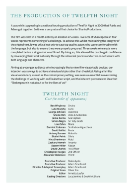 Twelfth Night programme AW.indd