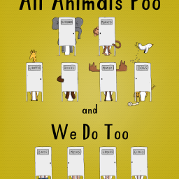 Books about Poop, plus the usual scoop on loos and no. 2s.