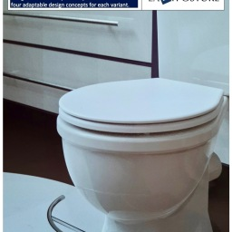 Patents Pending: Aesthetic toilet accessory that helps you squat while you s*it or pee.